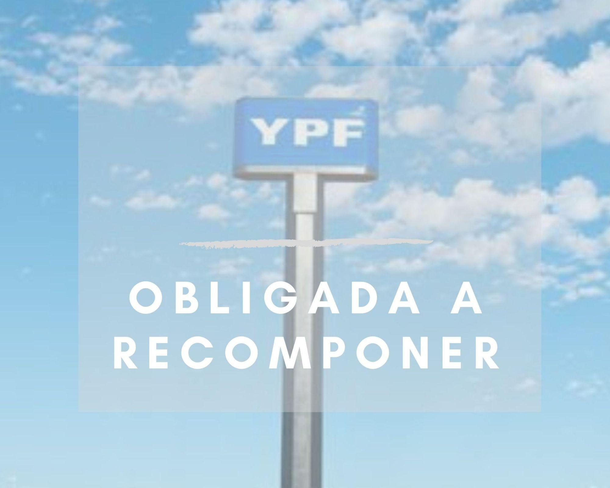 Sentencia a YPF