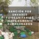 Sanción por envases fitosanitarios indebidamente almacenados