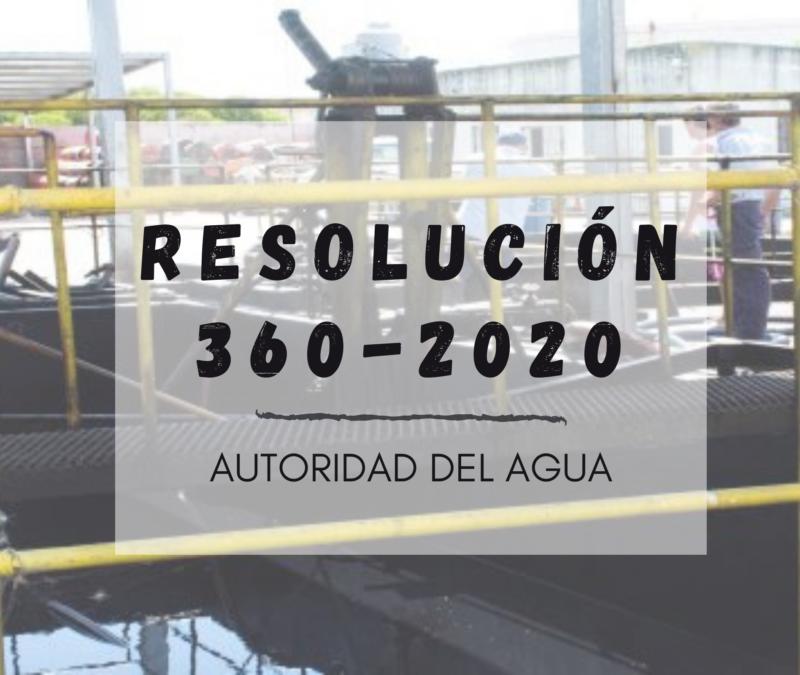 Resolución 360/2020 - ADA