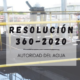 Resolución 360/2020 - ADA