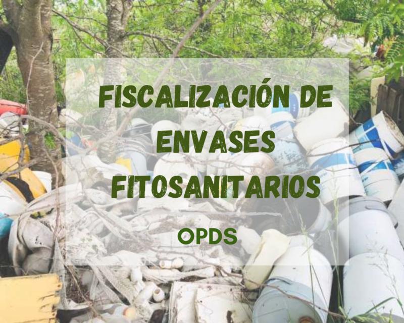 fiscalizacion de envases fitosanitarios